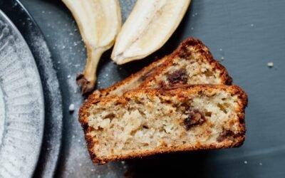 Receta Bagno: Queque de plátano para cualquier época del año
