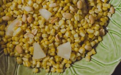 Receta Bagno: Exquisita ensalada de choclo con piña