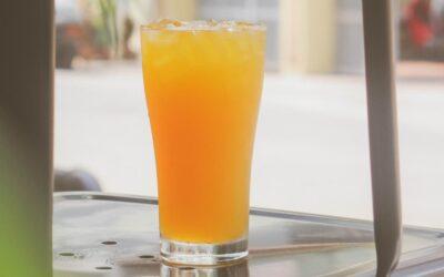 Receta Bagno: Jugo de mandarina