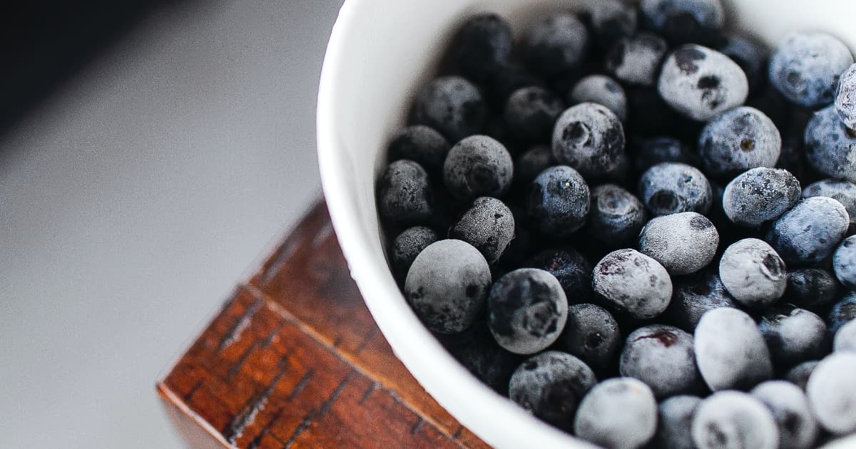 como congelar fruta